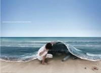 lifting ocean edge