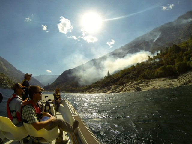 scouting the rim fire