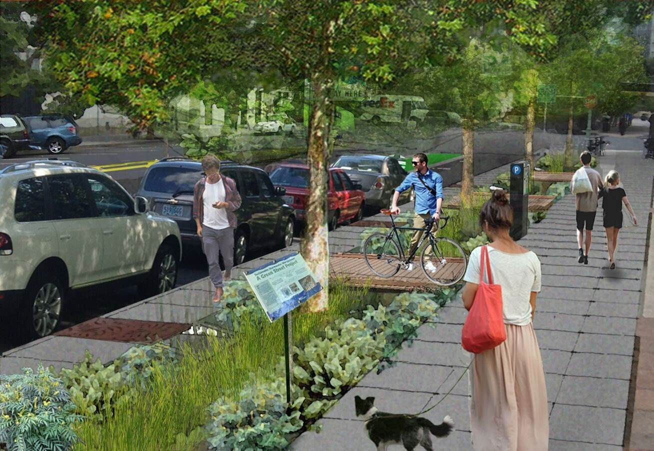 Oakland green infrastructure vision.